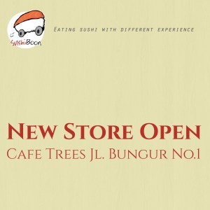 Sushi Boon on Cafe Trees, Bandung