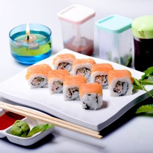 Atlantic Salmon Roll